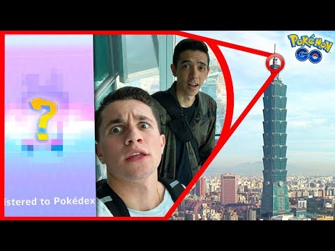 Download Youtube: I CAUGHT A POKÉMON ON THE FORMER TALLEST BUILDING IN THE WORLD!