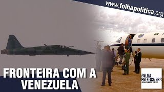 Governo Bolsonaro divulga vídeo impactante de visita do Ministro da Defesa à fronteira com Venezuela