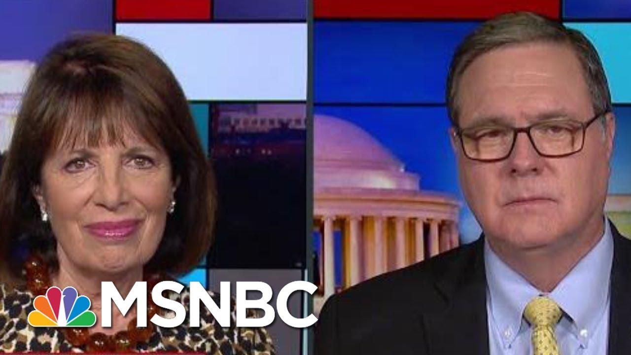 Congress Prioritizes Protecting President Donald Trump Impeachment Witnesses | Rachel Maddow | MSNBC
