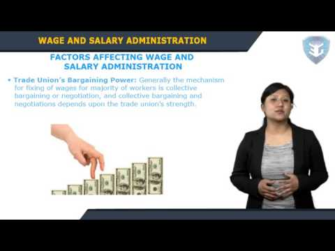 Wage and Salary Administration