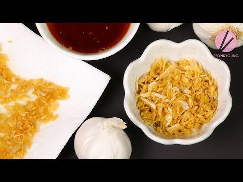 Fried Garlic Feat. Chili Garlic Oil | Asian at Home