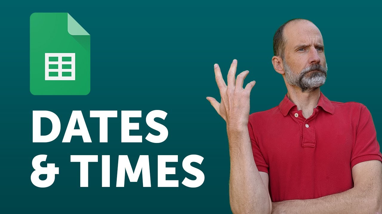 google sheets using dates and times in formulas youtube