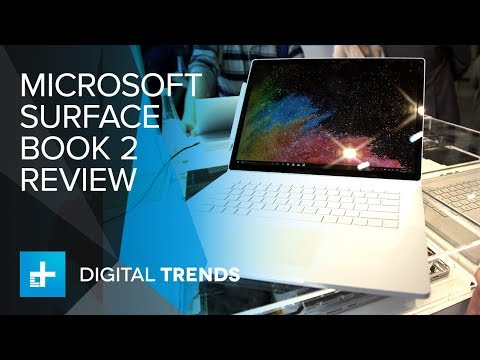 Microsoft Surface Book 2 Hands On