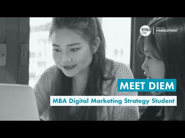 Meet Diem, MBA Digital Marketing Strategy Student at EMLV