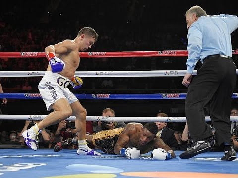GOLOVKIN VS MONROE POST FIGHT RESULTS REVIEW! 6TH ROUND TKO KNOCKOUT! MONROE GAVE UP?!!