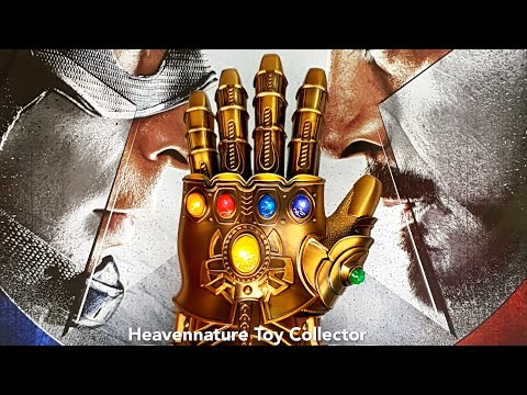 Avengers Thanos Infinity Gauntlet 1:1 scale Metal Wearable gauntlet| Full HD Full Review