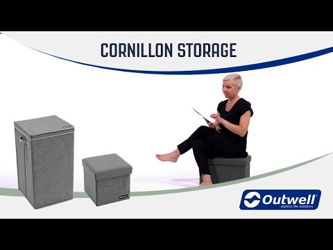 Outwell Storage Boxes (2019) | Innovative Family Camping Equipment