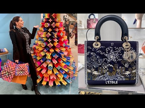 Luxury London Shopping Spree At Dior, Chanel, LV, Cartier | I Bought My Big Christmas Gift!!