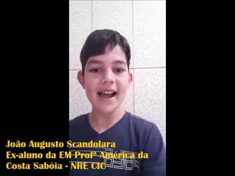 Vídeo Aluno João   SEP
