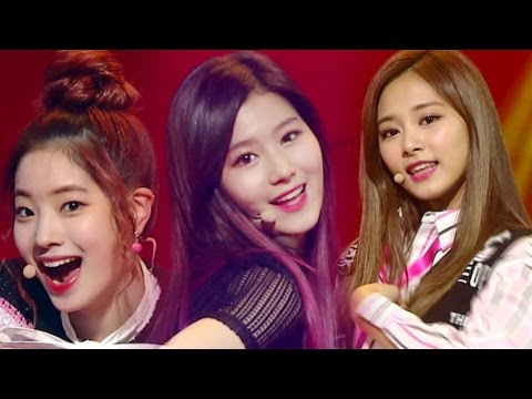 《Comeback Special》 TWICE - Intro + KNOCK KNOCK @인기가요 Inkigayo 20170226