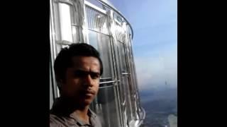 Burj khalifa 124 th floors  2016 - kiran