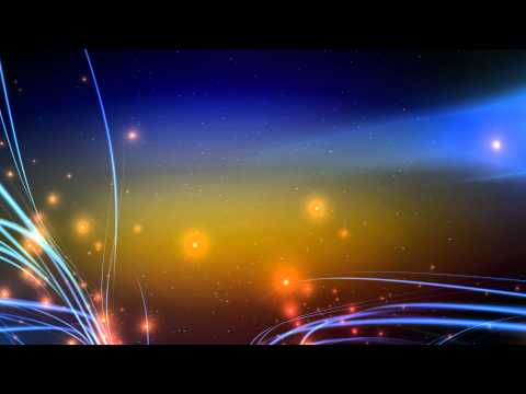 4K Sunset Gradient Colored Blue Streaks Show UHD HD Background Animation