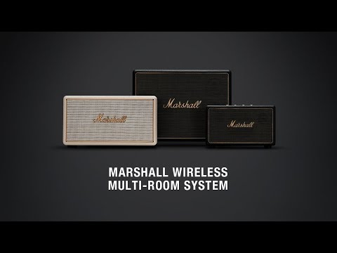 Marshall - Wireless Multi-Room Speaker System - Full Overview