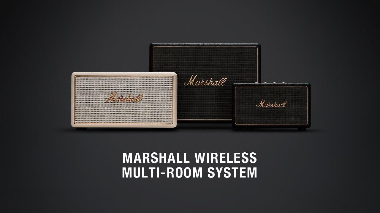 Marshall Wireless Multi Room Speaker System Full