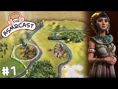 ASMR Gaming: Civilization VI (Cleopatra - Egypt) A New World #1