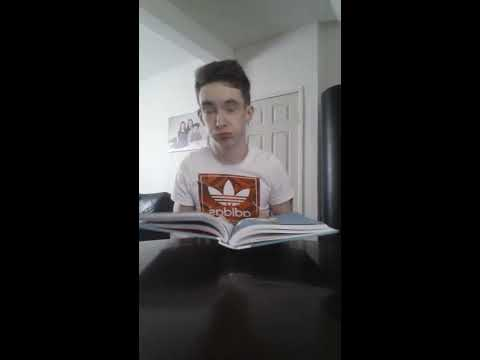 Hilarious! Guy with tic disorder reads out loud