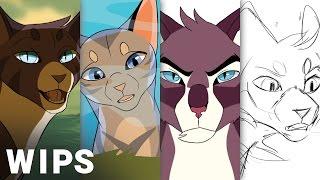 4 Warrior Cat MAP WIPS
