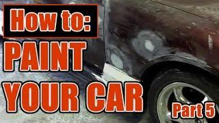 How To Paint a Car - Part 5 Mini Course