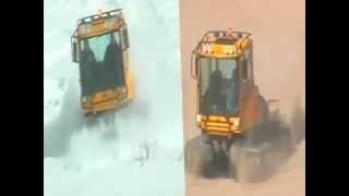 Вездеходу PRINOTH TROOPER нипочем ни снег, ни песок