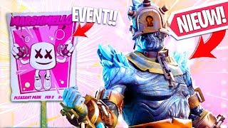 DIT IS DE SNOWFALL (THE PRISONER) SKIN!! GROOT DJ EVENT LEAKED! Fortnite Battle Royale NIEUWS