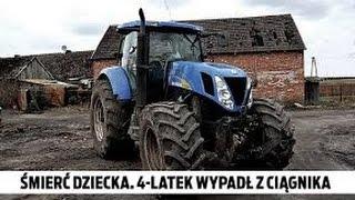 Ku przestrodze~Wypadki w rolnictwie