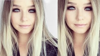 OLSEN TWINS INSPIRED MAKEUP  | Smokey Eyes w/ KAT VON D EYE CONTOUR PALETTE