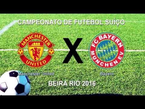 Camp Beira Rio 4ª RODADA - MANCHESTER UNITED 2 X 2 BAYERN