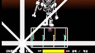 Reboot REVENGE Legacy Version Papyrus Battle Undertale Fangame