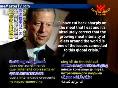 Al Gore on Less meat helps the planet