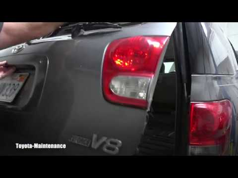 Toyota Sequoia Rear Hatch Stuck, can't open