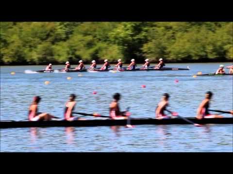 US Rowing Youth Nationals SRA Girls V8 heat