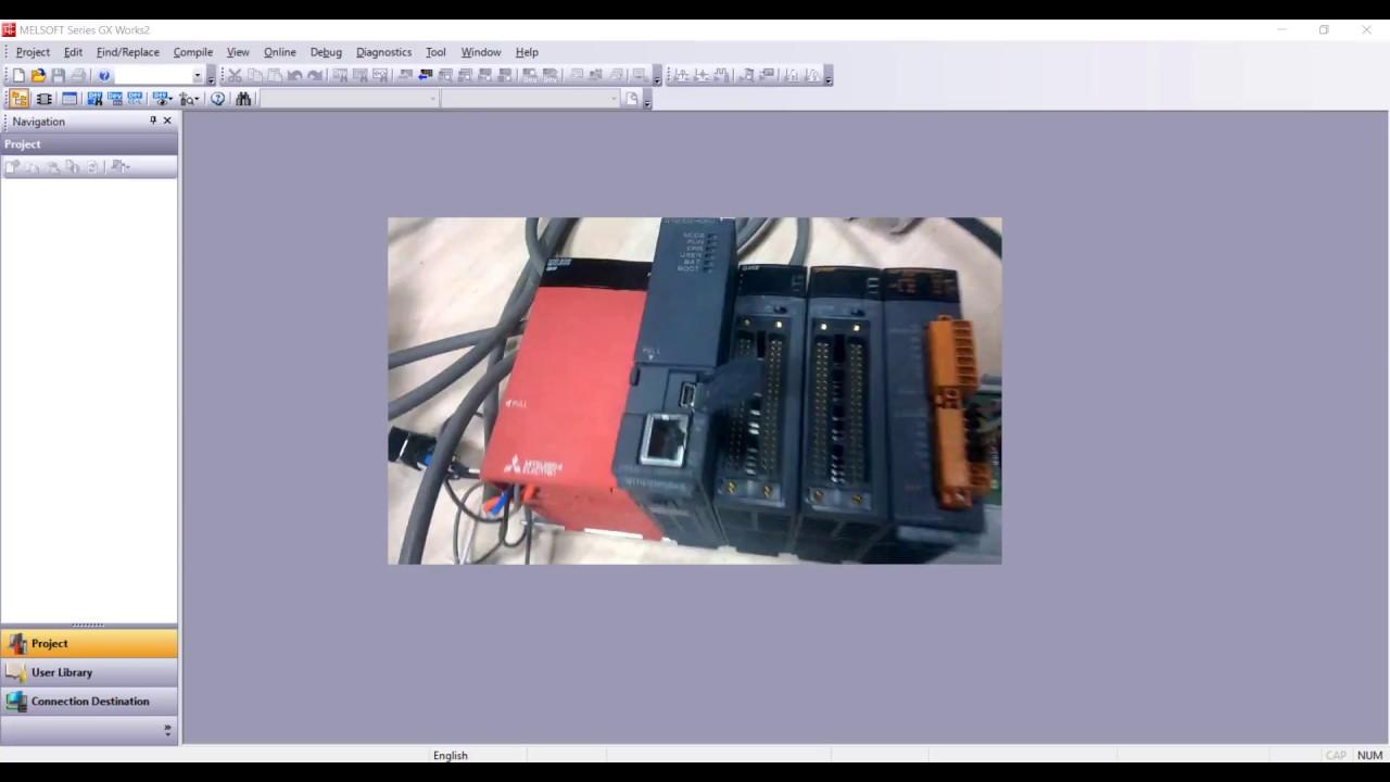 Configulation PLC Mitsubishi Q-Series