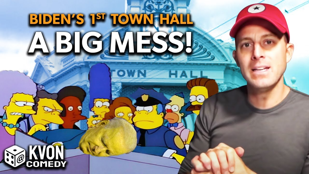 Biden Bumbles 1st Town Hall (K-von compares him to Mr. Burns from The Simpsons)