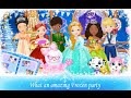 Princess Libby Frozen Party Libii Educational Android İos Free Game GAMEPLAY VİDEO
