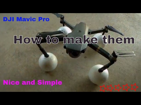 DJI Mavic Pro Floats How to make simple.