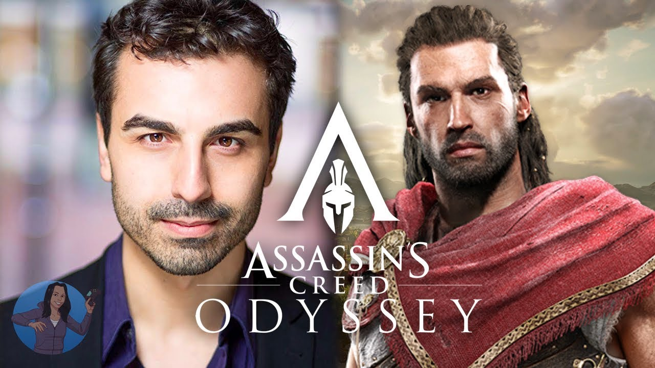Assassin S Creed Odyssey Actor Michael Antonakos As Alexios