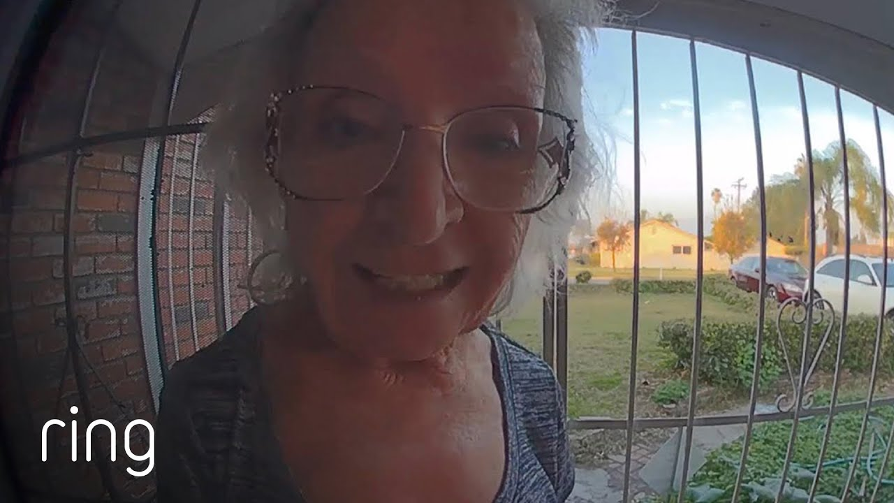 Mom's Message on Video Doorbell: Taco Night! & Son Makes Sure Parents Are Safe | Ring