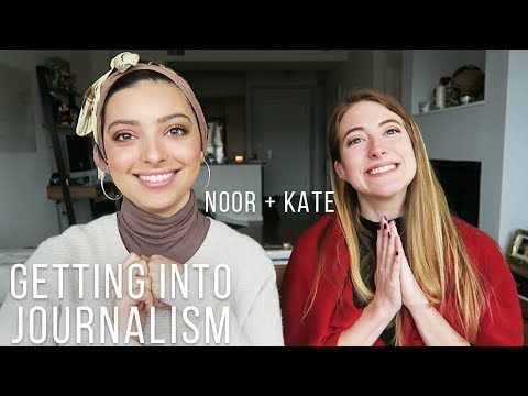 Q+A: GETTING INTO JOURNALISM! (and a HUGE ANNOUNCEMENT!)