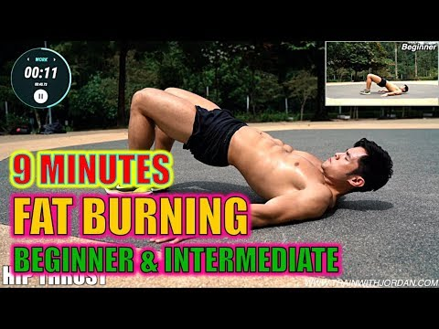 [Level 2.5] 9 Minute Fat Burning Beginner & Intermediate Level