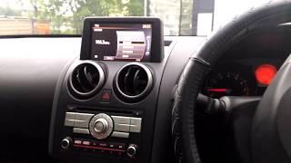 Nissan Dualis (2007-2014) - русификация меню, карты россии, радио евро, USb.  (Xanavi.ru)