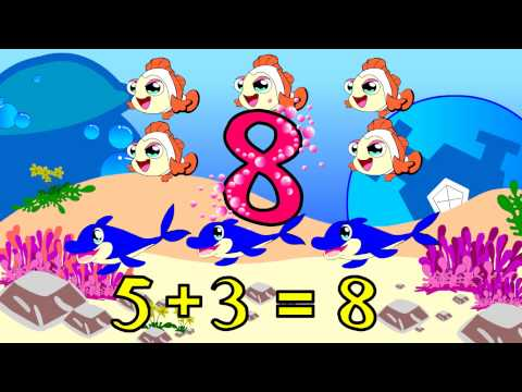 สื่อการสอนพัฒนาทักษะด้านสมอง เรื่อง มานับเลขกันเถอะ