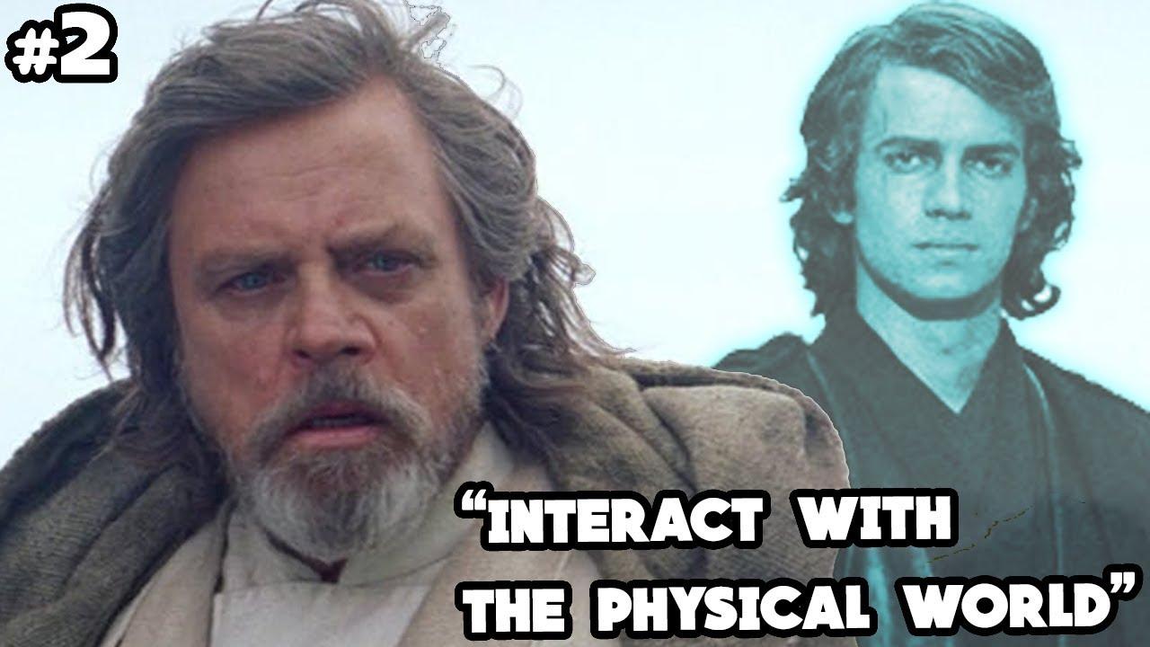 Luke Reveals Anakin Speaks to Him Again After Last Jedi (CANON) - Star Wars  Explained