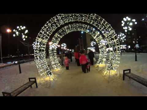 Ривьера Иркутск - куда пойти гулять в Иркутске на Новый Год