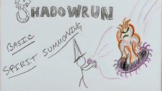 Basic Spirit Summoning - GM Screen - Shadowrun 5th Edition