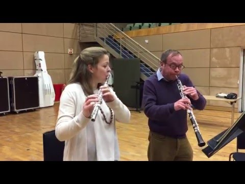 Catriona Ryan, flute & Matthew Manning, oboe