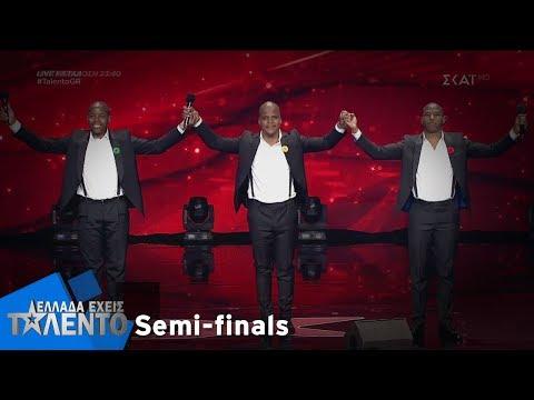 Ελλάδα Έχεις Ταλέντο - Season 2 | 3 Tenors | 09/12/2018
