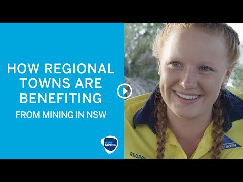 How regional towns benefit from mining in NSW