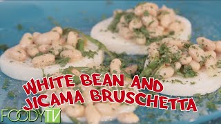 Cook Time With Remmi - S1 Ep.2 - White Bean & Jicama Bruschetta
