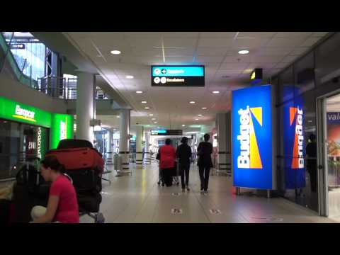 Bus Shuttle Depot and Car Rental at Johannesburg International Airport