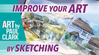 How to Improve your Art by Sketching